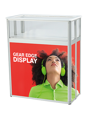 Gear Edge Display Theke